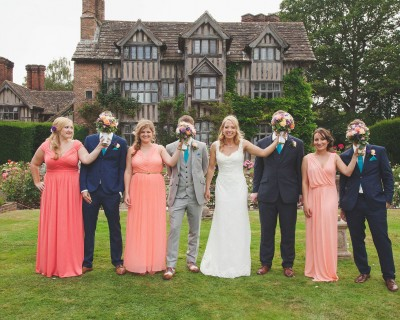 Summer flowers bouquets for bridesmaids - East Sussex