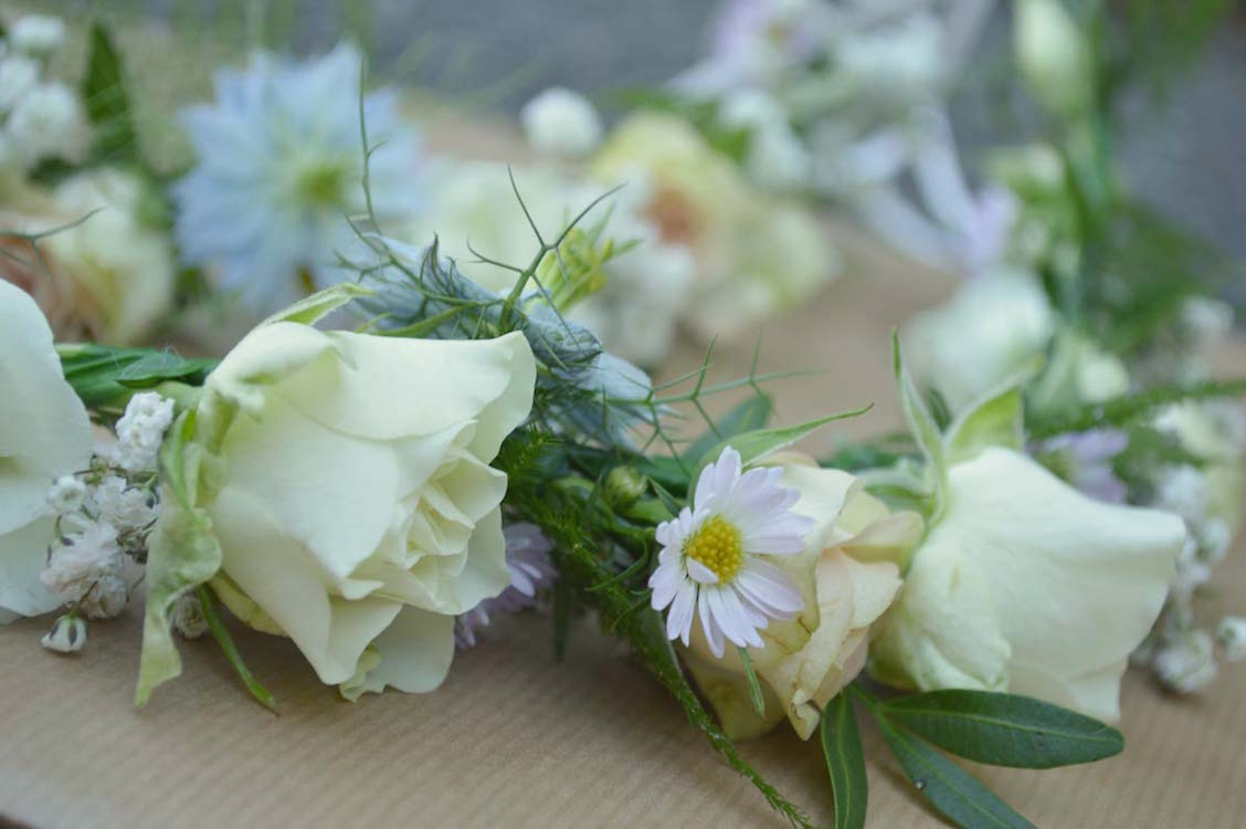 flower crown for young flower girls