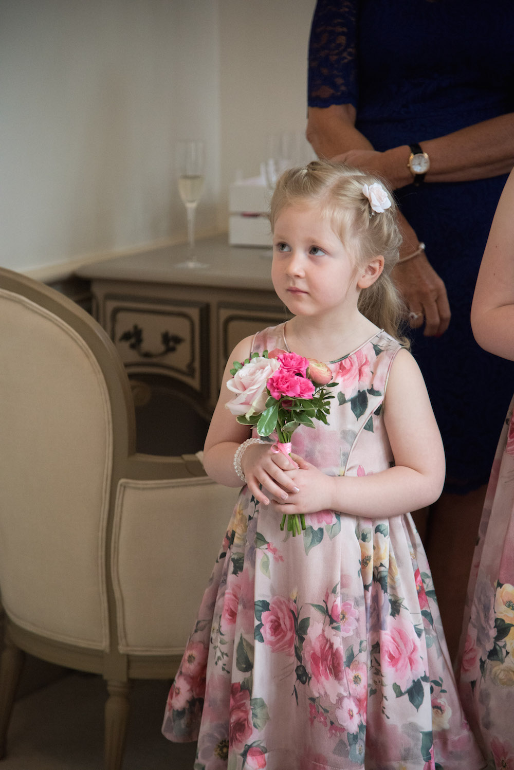 flower girl flowers at nonsuch mansion