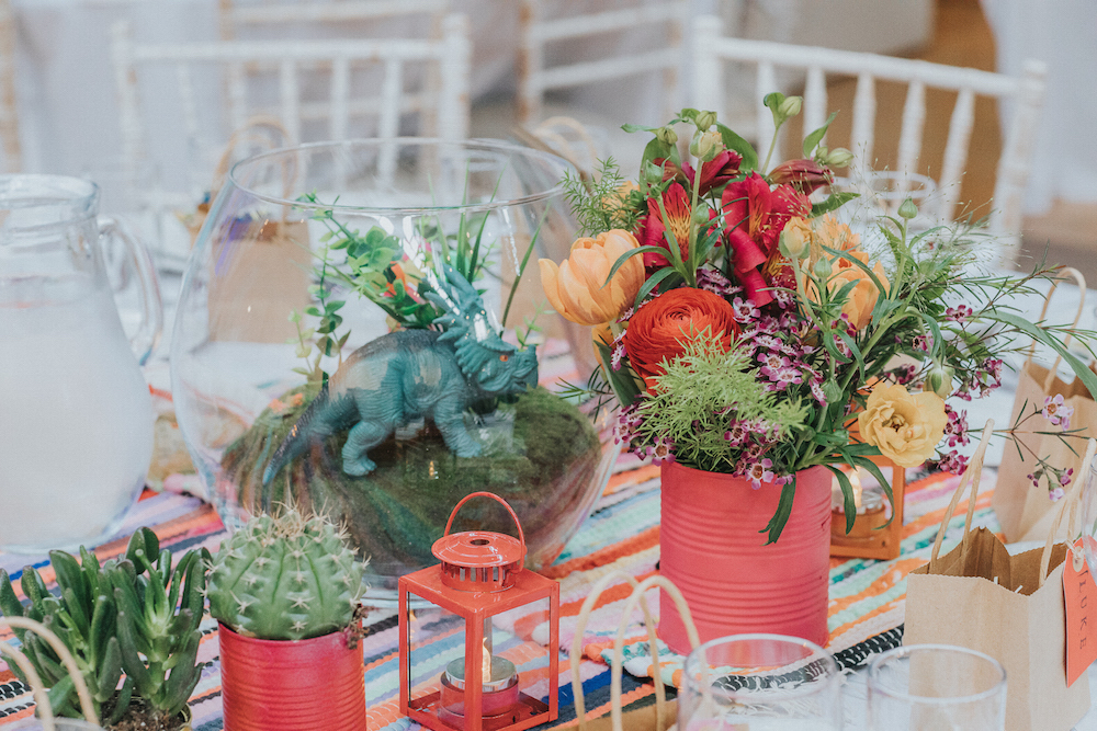 funky colourful wedding in Brighton, flowers by Bettie Rose