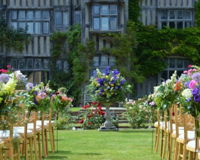 Summer flowers for the aisle - East Sussex