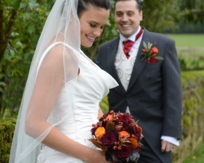 Halloween wedding pictures