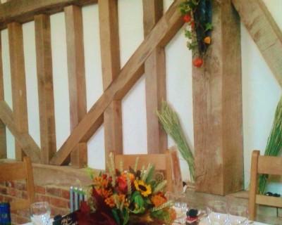 Halloween wedding reception - Sussex