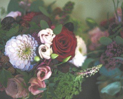 Bridal bouquet at The Claremont Hove