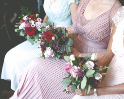 Bridesmaids Bouquets at The Claremont Hove