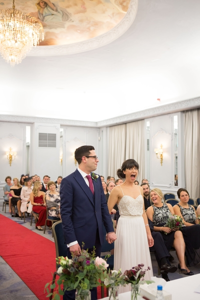 Fun wedding, the grand hotel brighton