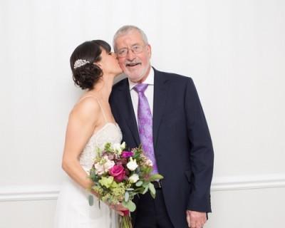 november bridal bouquet