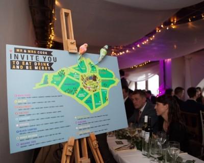 fun unique wedding reception ideas