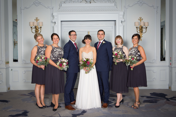 Bridal party at the grand hotel brighton