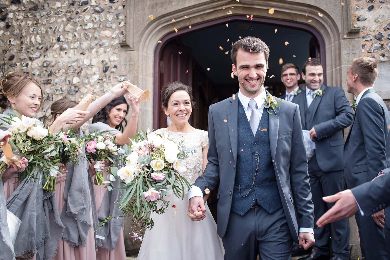 Rottingdean church spring wedding
