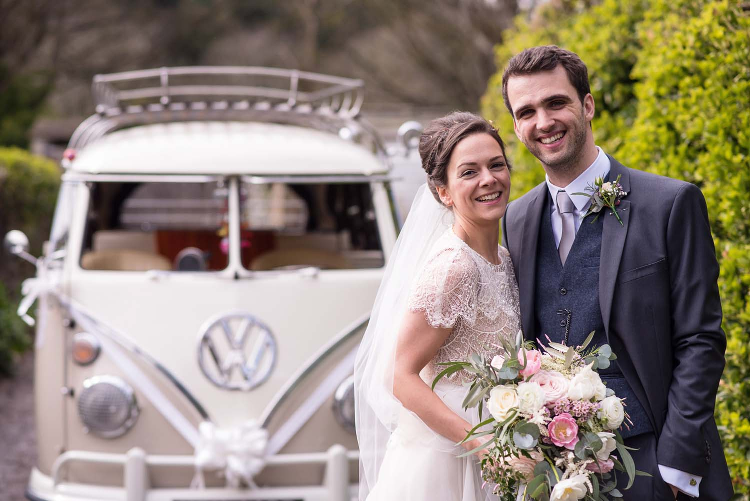 pangdean barn camper van fun wedding