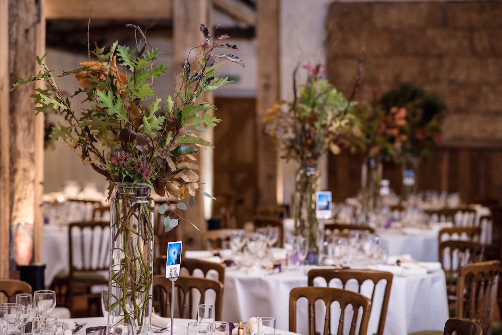 tall wedding table arrangements