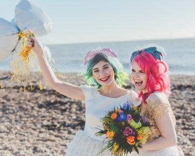lesbian wedding brighton