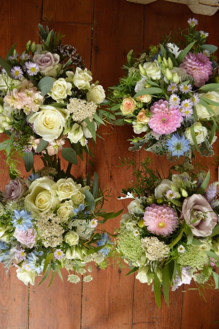 bridesmaids bouquets sussex