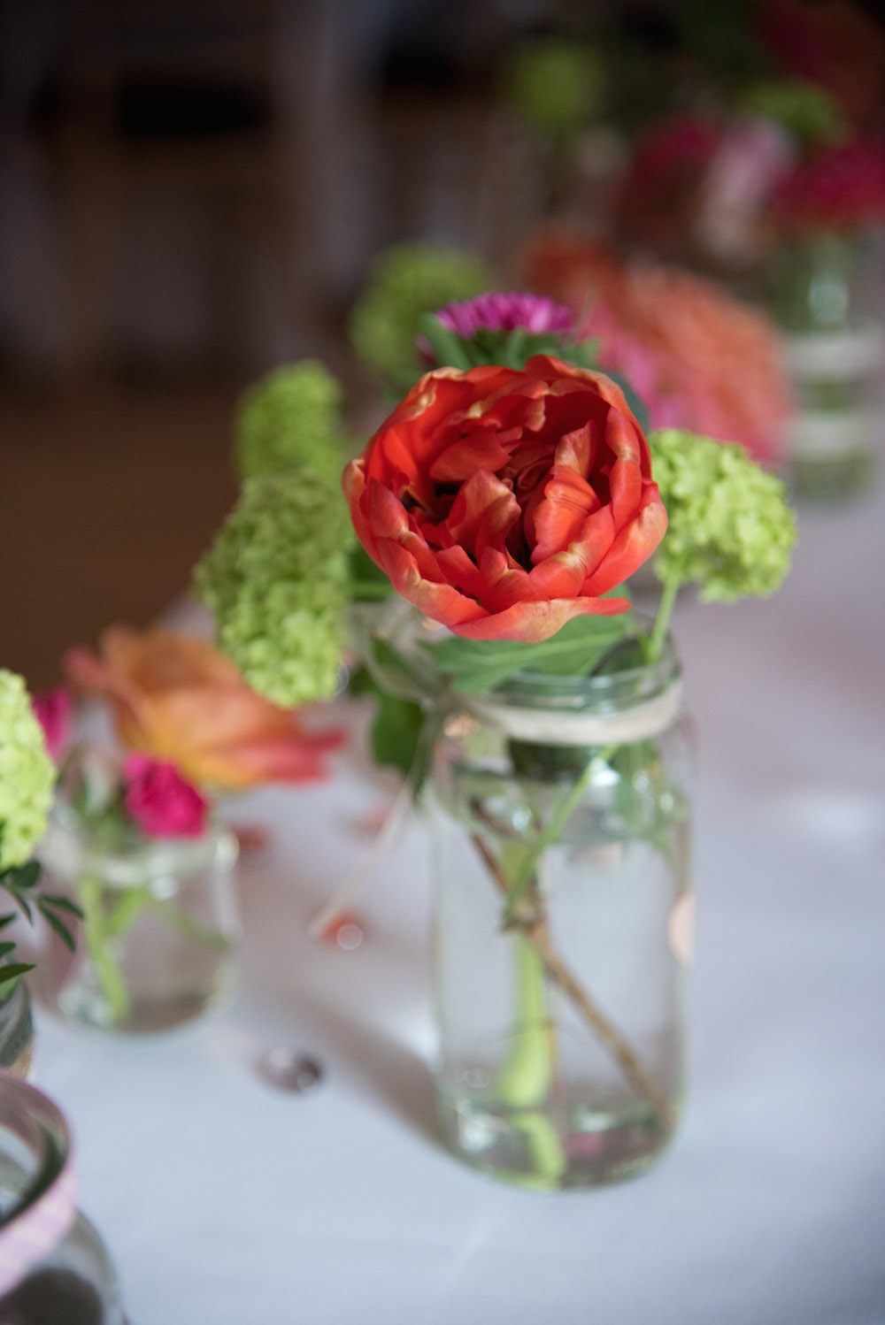 top table flowers, nonsuch mansion