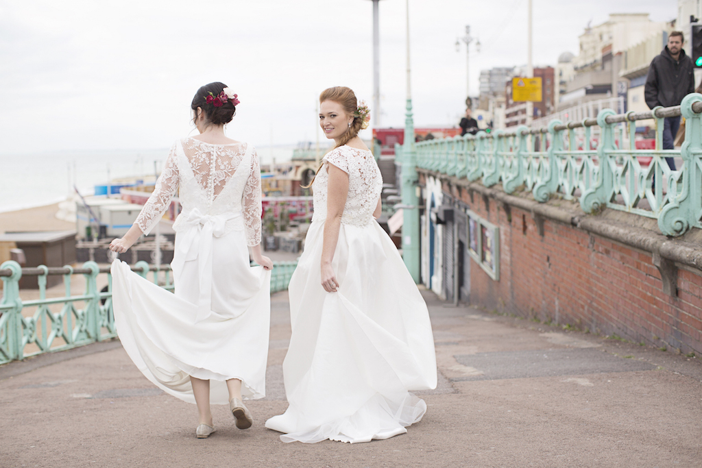 lesbian wedding inspiration brighton