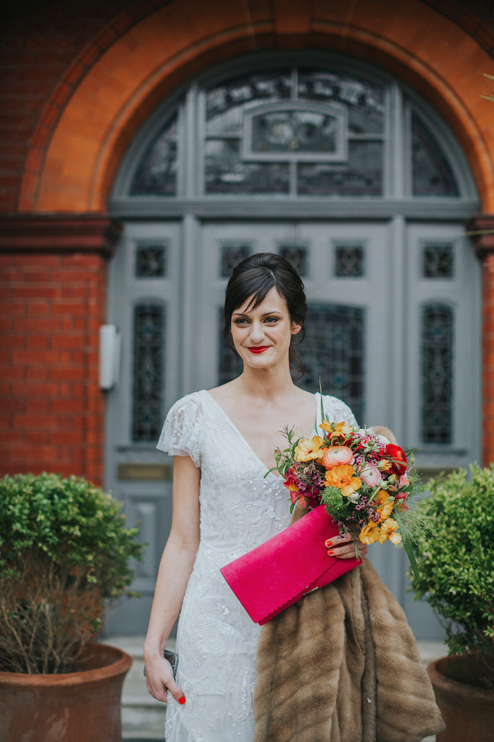 hove wedding, spring flowers for a colourful wedding in Sussex