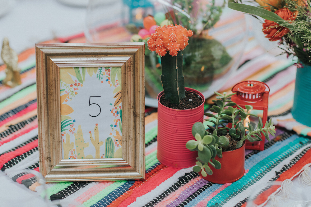 mooncacti wedding table ideas