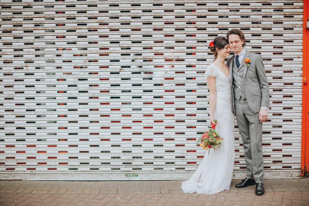 cool wedding photography in Brighton