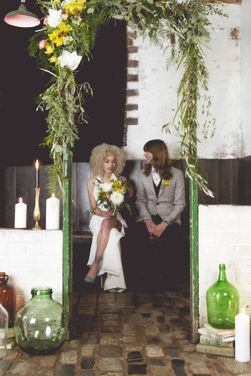 retro, vintage 70's wedding inspiration