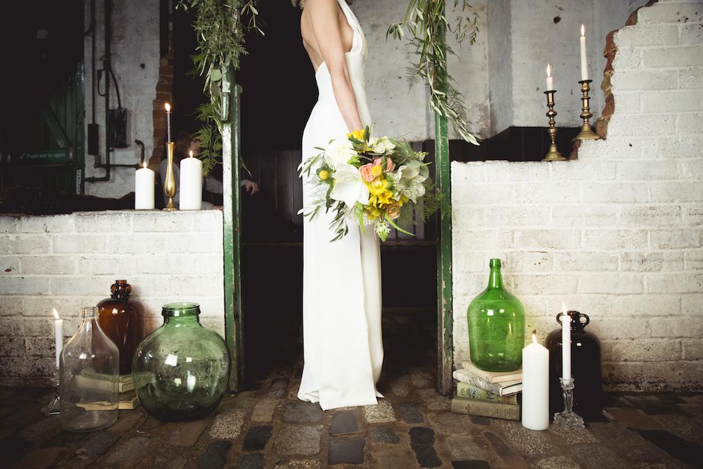 urban warehouse wedding Brighton