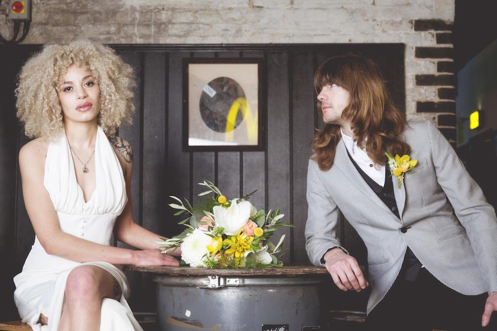 rock n roll wedding brighton