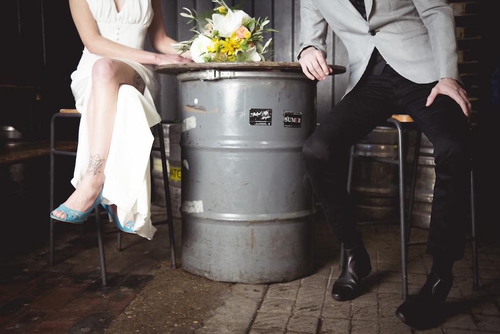 urban industrial wedding inspiration