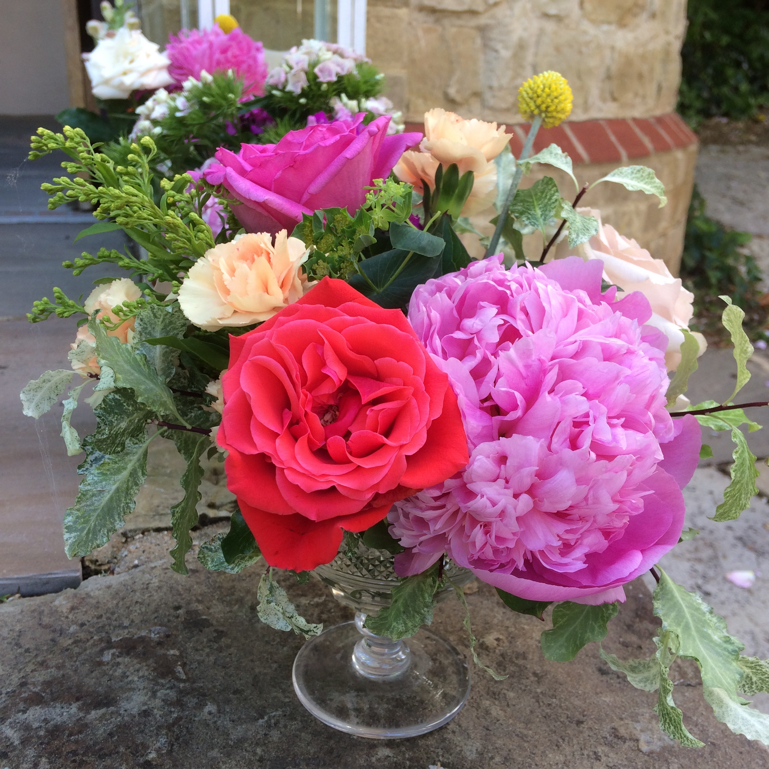 june flowers peonies and english roses