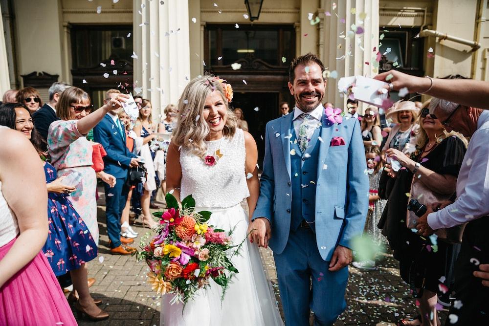 tropical wedding brighton
