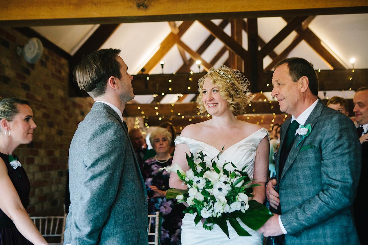1930 art deco inspired wedding, sussex