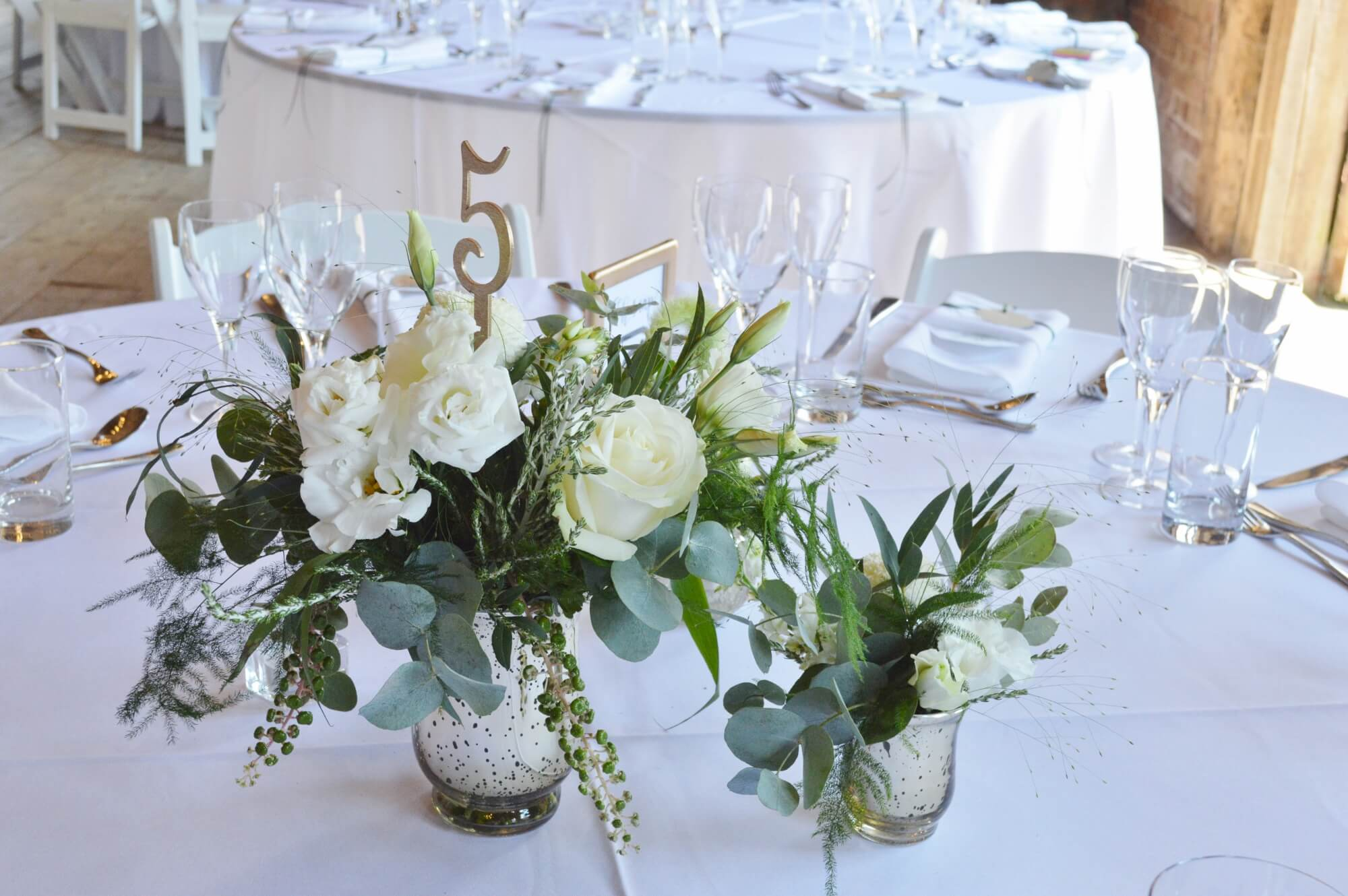 gold and white wedding flowers, sussex wedding florist