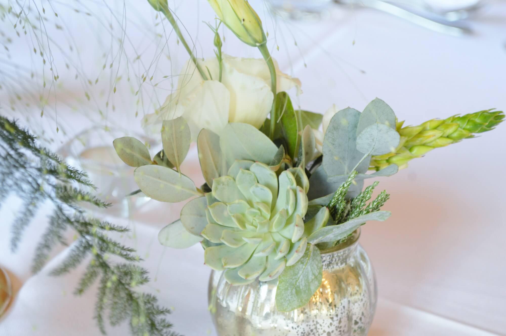 succulent table centre