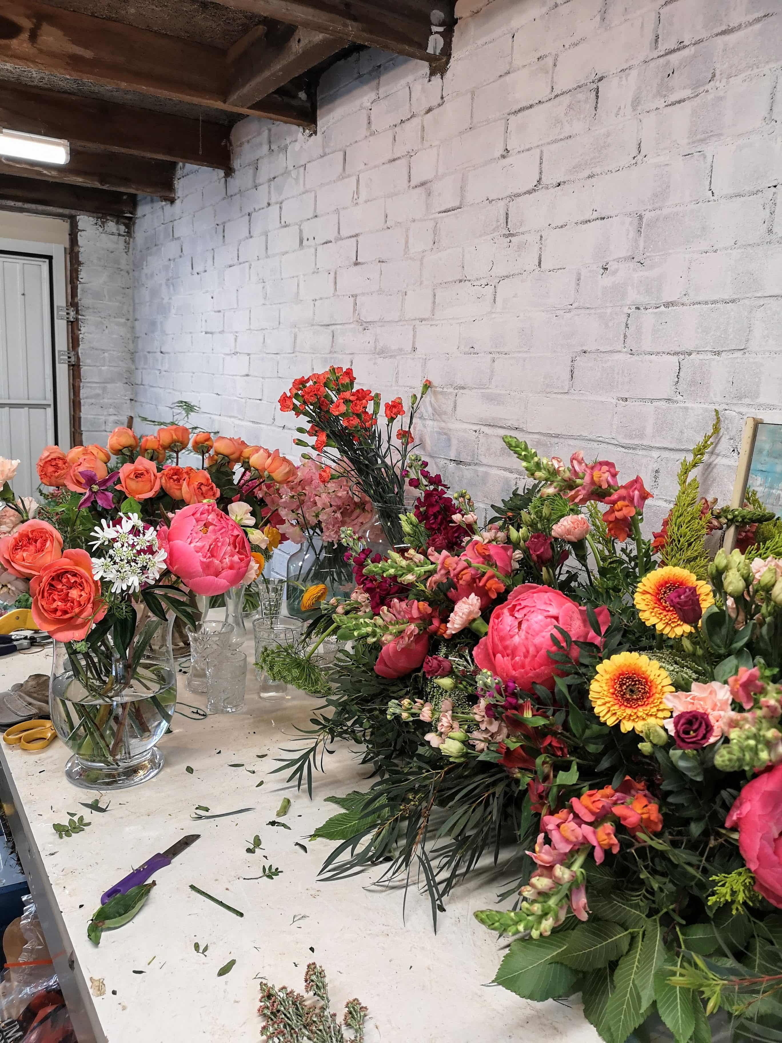 florist workshop mess