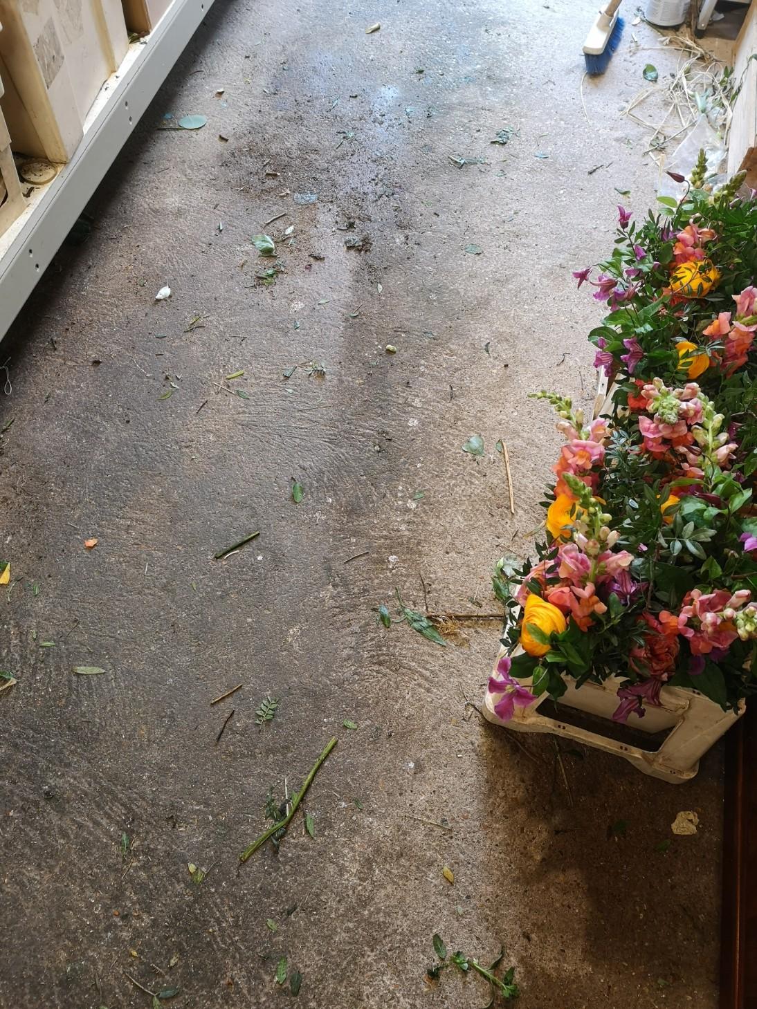 tidy florist workshop